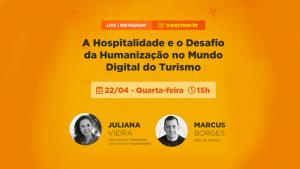 Paytour realiza live sobre humanização no turismo digital